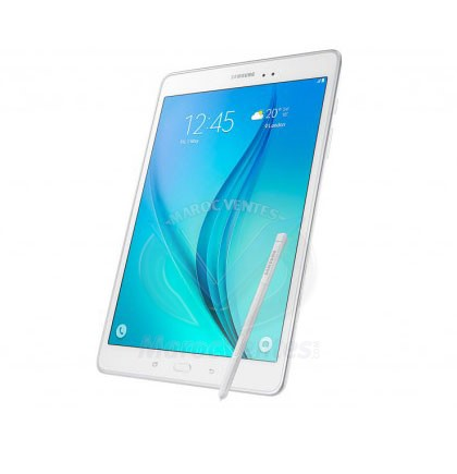 SAMSUNG TAB A 9,7 POUCES BLANCHE WIFI 4G AVEC STYLET SM-P555NZWAMWD