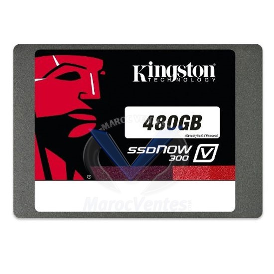 "DISQUE KINGSTON SSD NOW V300 SATA III 2.5"" 480G SV300S37A"
