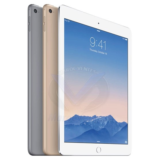 Apple iPad Air 2 Wi-Fi 16GB Silver MGLW2HC/A